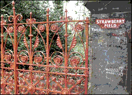 Absolute Elsewhere: Strawberry Fields Forever: Strawberry Field, Liverpool UK